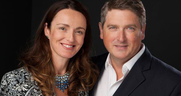 Kira and Mark Walton founded Sligo-based beauty products company Voya 13 years ago. Photograph:  Suzy McCanny Photography