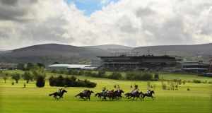 The land adjacent to Leopardstown racecourse has been valued at €79 million. Photograph: Cathal Noonan/Inpho