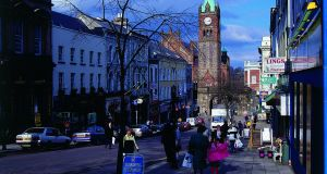 Derry city. Nearly a decade ago the jobless rate in Northern Ireland was sitting at a high of around 8.2 per cent.