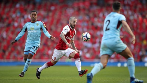 Jack Wilshere is set to miss out on a place in England's World Cup squad. Photograph: Nick Potts/PA