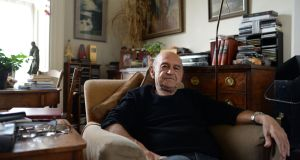 Tom Murphy at his home in Dublin in 2014 .Photograph: Dara Mac Dónaill/ The Irish Times
