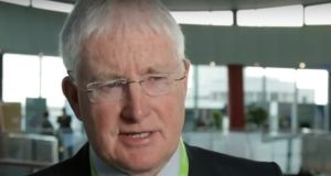 John Connaghan apologised on behalf of the HSE and the CervicalCheck programme. Photograph: HSE.ie/Youtube