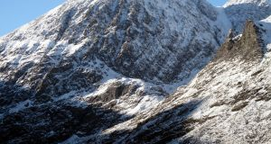 The north face of Carrauntoohil, Co Kerry