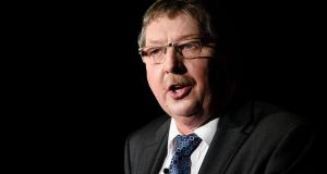 Democratic Unionist Party MP Sammy Wilson: his comments are part of the DUP's panic over Brexit. Photograph: Leon Neal/AFP/Getty