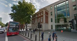 Christopher Partington (33) appeared at Westminster Magistrates' Court in London charged with seven counts of possessing documents useful for the purposes of terrorism between February 19th and May 1st this year. File photograph: Google Street View