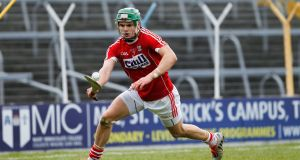 Cork's Alan Cadogan in action  against Tipperary in March. Photograph: Conor Wyse/Inpho