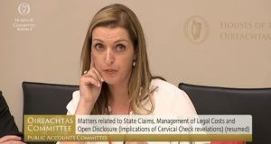 Vicky Phelan (43) won a €2.5 million settlement last month after she received incorrect smear test results.