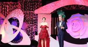 Sydney Rose Brianna Parkins with Dáithí Ó Sé at the Rose of Tralee festival in 2016. 'The consequences of talking about the issue of abortion at the Rose of Tralee festival in 2016 were hard and fast.' FIle photograph: Twitter