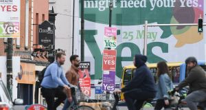The Yes side has a clear route map to victory in that the poll underlines strong public support for wider access to abortion.  Photograph: Artur Widak/AFP/Getty Images