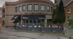 A director of Dublin 4 restaurant Bellucci's said he feared it would lose a lot of trade generated by events scheduled to occur at the RDS and the Aviva Stadium in the coming weeks. Photograph: Google Maps