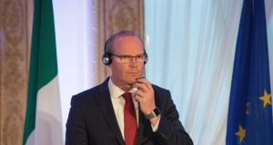 Tánaiste and Minister for Foreign Affairs and Trade  Simon Coveney:  any disagreement towards the end of this year over the terms of Britain's withdrawal from the European Union would leave little time before Brexit formally took effect next March. Photograph: Tom Honan