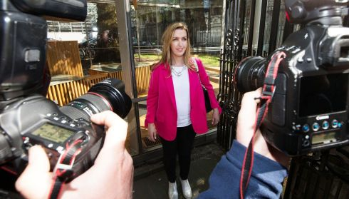 "IN THE SPOTLIGHT: Vicky Phelan arriving at the Dáil prior to her appearance before the Public Accounts Committee. The Lmerick woman said she was ""not interested in revenge"" but wanted accountability from the health service over the CervicalCheck scandal. Photograph: Nick Bradshaw"