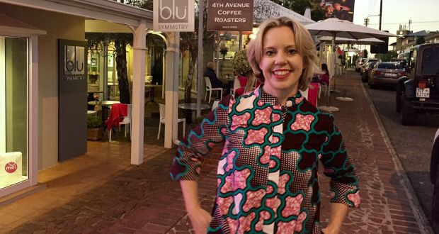 Aisling Quirke in Johannesburg: an active member of Business Ireland Southern Africa