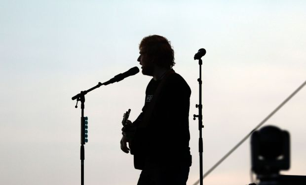 16/05/2018 - NEWS - Ed Sheeran concert in the Phoenix Park. Photograph Nick Bradshaw