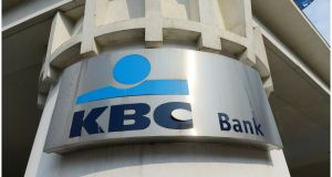 KBC Bank Ireland released €43m  that had previously been set aside for bad loans. Photograph: Bryan O'Brien
