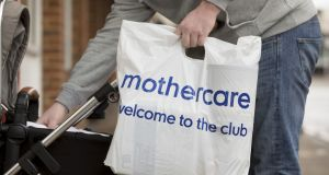 Mothercare's sales and profit have been hammered by intense competition from supermarket groups and online retailers. Photograph: Bloomberg