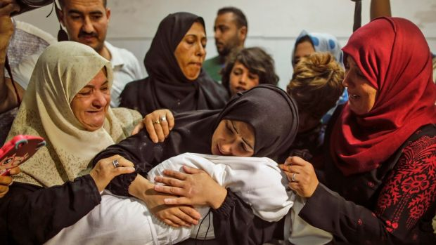 The child who died in Gaza, her family and the propaganda war