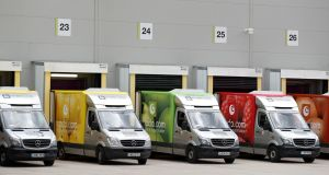 Ocado delivery vans: the UK online retailers will provide tech to US giant Kroger Co's move to take on Amazon