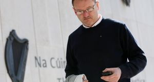 Conor O'Hora (40) of Heather Walk, Portmarnock, Dublin has been  jailed for three years for harrassing RTÉ newsreader Sharon Ní Bheoláin. File photograph: Collins Courts.