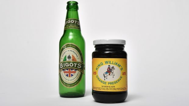 Bigots Beer and King Billy marmalade. All photographs: Charles McQuillan/Pacemaker
