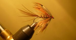 Corrib Grey Mayfly, tied by Jimmy Tyrrell