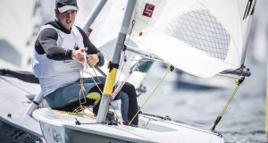 Tokyo Laser campaigner Finn Lynch will benefit from a new dedicated performance headquarters for Irish Sailing at Dún Laoghaire Harbour. Photograph: Richard Langdon/World Sailing