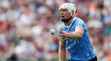Dublin's Liam Rushe: he  has a rare combination of bulk and speed, and on Sunday he had the attitude to go along with it.   Photograph: Tommy Dickson/Inpho