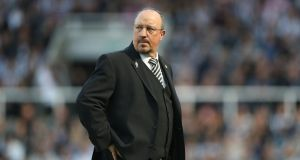 Newcastle United manager Rafa Benitez is West Ham United's first choice to replace David Moyes. Photograph:  Getty Images