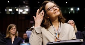 Gina Haspel was confirmed as the new CIA director after the US Senate voted 54-45 in her favour. Photograph: Kevin Lamarque/Reuters