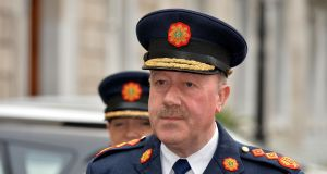 Former Garda commissioner Martin Callinan who is giving evidence to the Charleton tribunal on Friday.   Photograph: David Sleator/The Irish Times