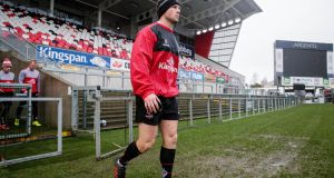 John Cooney has proven his fitness and is in the Ulster XV to face Ospreys on Sunday. Photograph: Inpho