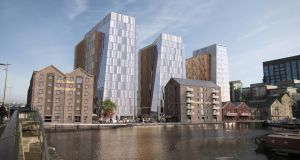 The planned new development by Google on the Boland's Quay site