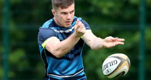 Luke McGrath: starts at outhalf for Leinster in the absence of Johnny Sexton. Photograph: Bryan Keane/Inpho