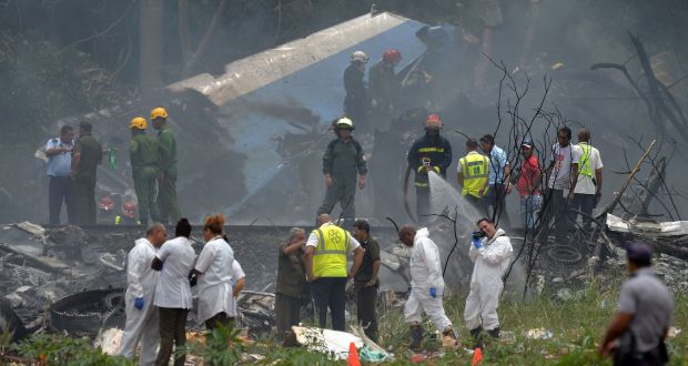 Image result for Cuba Plane Crash: Over 100 People Reported Dead As Aircraft Goes Down In Flames