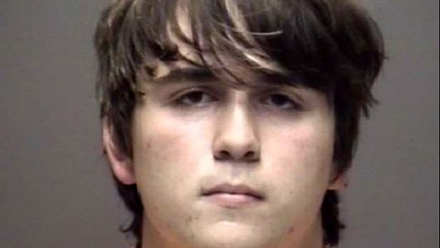 Shooting suspect Dimitrios Pagourtzis (17). Photograph: AFP/Galveston County Sheriff's Department