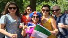 'It's the first royal wedding I've felt okay waving a Tricolour at'