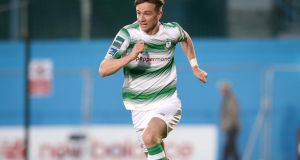Ronan Finn had a number of chances for Shamrock Rovers. Photograph: Inpho