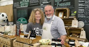 Food Village exhibitors at Bloom will include  Sharon and Gordon Greene of Wild Irish Foragers and Preservers, from Birr, Co Offaly.