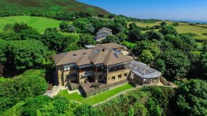 Bayview House, Carrickbrack Road, Howth, Co Dublin is set on 1.25 acres of landscaped gardens, and the views are simply jaw-dropping