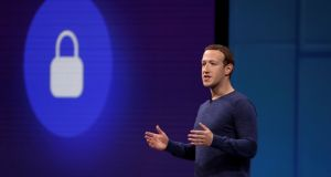 Facebook CEO Mark Zuckerberg. The previous plan to to have Mr Zuckerberg give a presentation in private had been widely criticised by EU officials. Photograph: Reuters