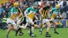 Kilkenny beat Offaly by nine points in Nowlan Park. Photograph: Lorraine O'Sullivan/Inpho