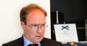 Sir Ivan Rogers, who resigned as Britain's diplomatic emissary to the EU in January last year. Photograph: Thierry Roge/EPA