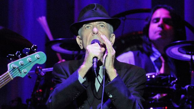 Leonard Cohen onstage at the 02 arena in Dublin in 2009. Photograph: Dave Meehan/The Irish Times