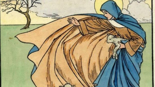"St Brigid: ""was referred to as a bishop not out of courtesy or metaphorically. She was really ordained."". Image: Cuala Press"