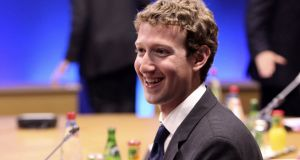 Facebook chief executive Mark Zuckerberg is to appear before the European Parliament on Tuesday afternoon.
