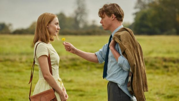 On Chesil Beach: Saoirse Ronan and Billy Howle