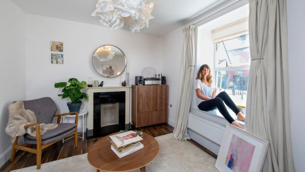 Artist Kady Berry at home in Cork. Photograph: Michael Mac Sweeney/Provision