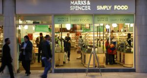 While M&S's trading is solid in the Republic, it is a different story in the UK where the chain plans to close  about 10 per cent of its network by 2022
