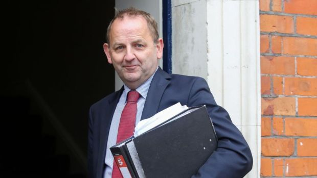 Charleton tribunal: Sgt Maurice McCabe. Photograph: Gareth Chaney/Collins