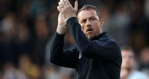 Gary Rowett has been appointed the new manager of Stoke City. Photograph: john Walton/PA